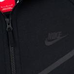Мужская толстовка Nike Tech Fleece Windrunner Full Zip Black фото- 3
