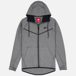 Мужская толстовка Nike Tech Fleece Windrunner Full Zip Carbon Heather фото- 0