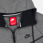 Мужская толстовка Nike Tech Fleece Windrunner Full Zip Carbon Heather фото- 1