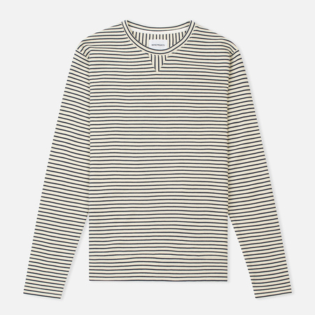 Мужская толстовка Norse Projects Haldfan Wool Stripe Ecru