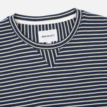 Мужская толстовка Norse Projects Haldfan Wool Stripe Navy фото- 1