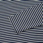 Мужская толстовка Norse Projects Haldfan Wool Stripe Navy фото- 2