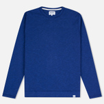 Norse Projects Halfdan Flame Overdye Men's Hoody Cornflower Blue photo- 0