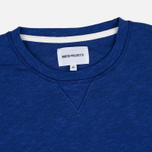 Norse Projects Halfdan Flame Overdye Men's Hoody Cornflower Blue photo- 1