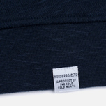 Мужская толстовка Norse Projects Halfdan Flame Overdye Navy фото- 3