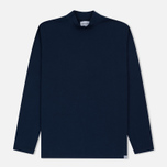 Мужская толстовка Norse Projects Harald Dry Cotton Navy фото- 0