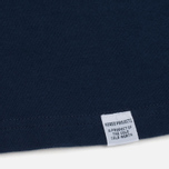 Мужская толстовка Norse Projects Harald Dry Cotton Navy фото- 3