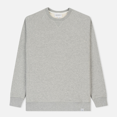 Мужская толстовка Norse Projects Ketel Classic Crew Light Grey Melange