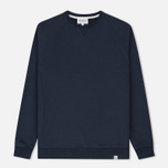 Мужская толстовка Norse Projects Ketel Classic Crew Navy фото- 0