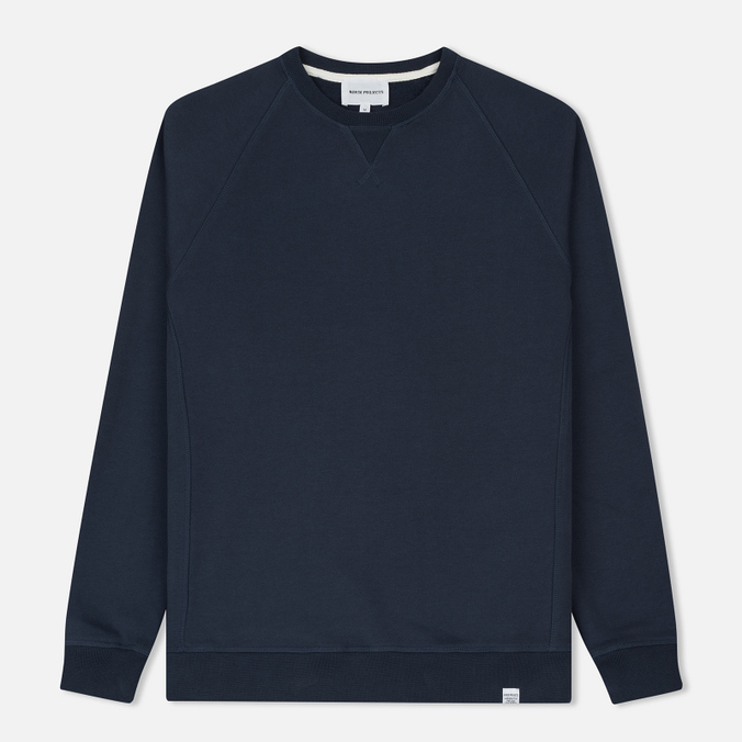 Мужская толстовка Norse Projects Ketel Classic Crew Navy