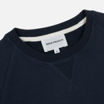 Мужская толстовка Norse Projects Ketel Classic Crew Navy фото- 1