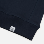 Мужская толстовка Norse Projects Ketel Classic Crew Navy фото- 3