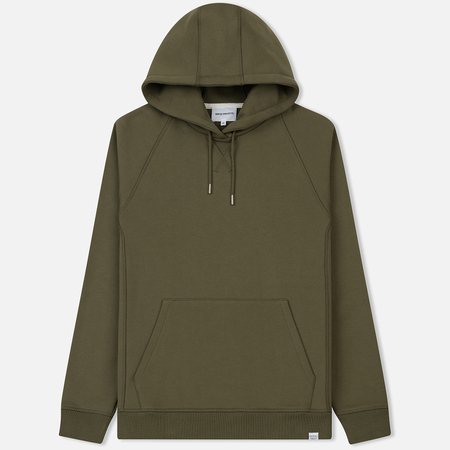 Мужская толстовка Norse Projects Ketel Classic Hood Lichen