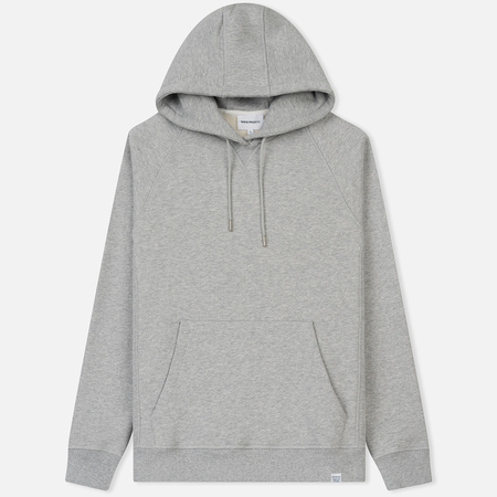 Мужская толстовка Norse Projects Ketel Classic Hood Light Grey Melange