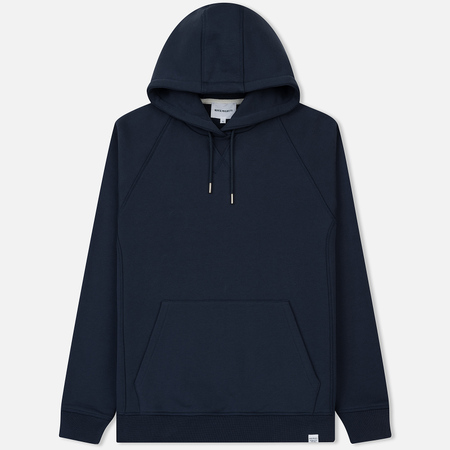 Мужская толстовка Norse Projects Ketel Classic Hood Navy