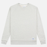 Norse Projects Ketel Crew Men's Hoody Light Grey Melange photo- 0