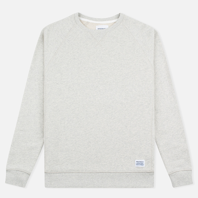 Norse Projects Ketel Crew Men's Hoody Light Grey Melange