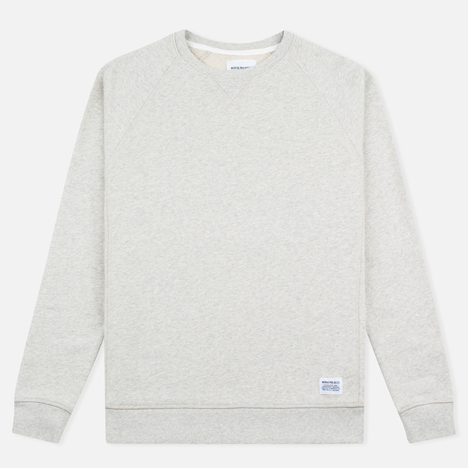 Мужская толстовка Norse Projects Ketel Crew Light Grey Melange