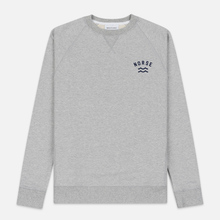 Мужская толстовка Norse Projects Ketel Ivy Wave Logo Light Grey Melange фото- 0