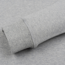 Мужская толстовка Norse Projects Ketel Ivy Wave Logo Light Grey Melange фото- 3