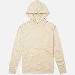 Мужская толстовка Norse Projects Ketel Light Brushed Ecru фото- 0