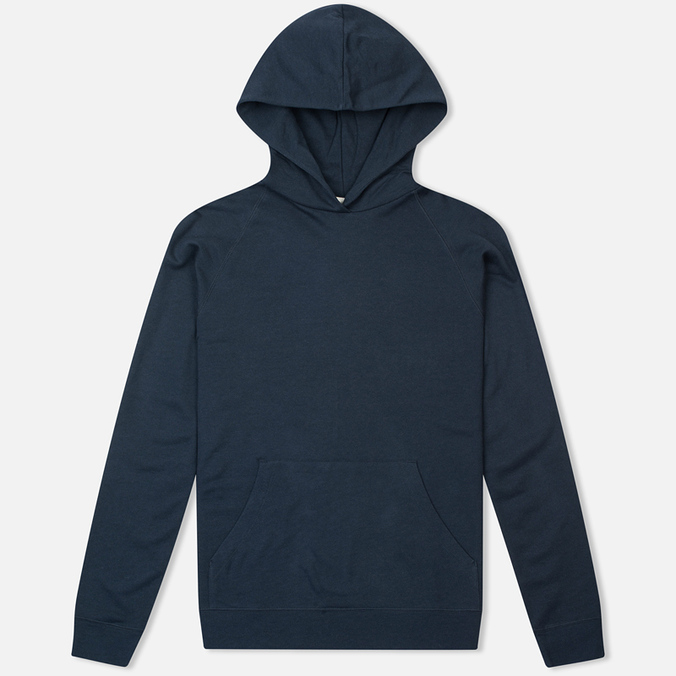Norse Projects Ketel Light Brushed Men's Hoody Navy