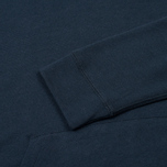 Мужская толстовка Norse Projects Ketel Light Brushed Navy фото- 2