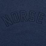 Мужская толстовка Norse Projects Ketel Logo Dark Navy фото- 2