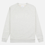 Мужская толстовка Norse Projects Ketel Logo Light Grey Melange фото- 0