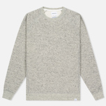 Мужская толстовка Norse Projects Ketel Melange Double Face Light Grey Melange фото- 0