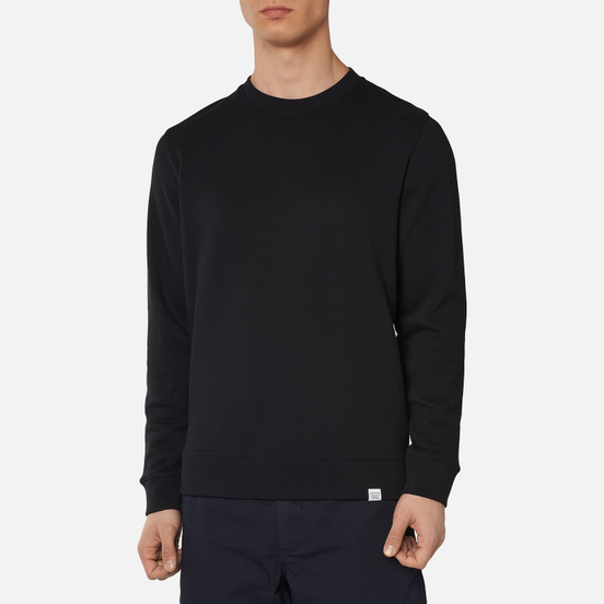 Мужская толстовка Norse Projects Vagn Classic Crew Black
