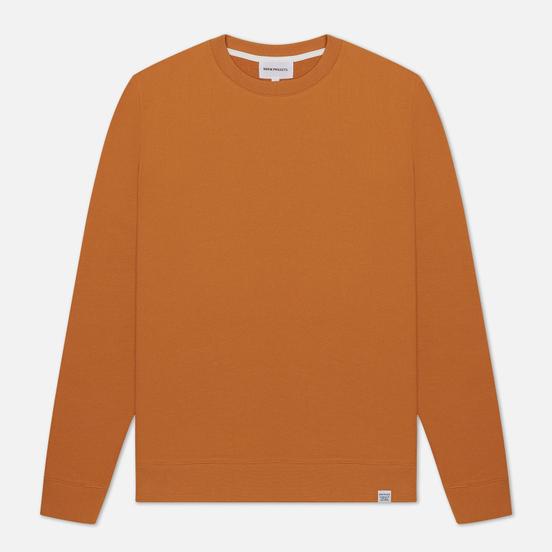 Мужская толстовка Norse Projects Vagn Classic Crew Cadmium Orange