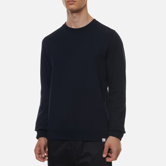 Мужская толстовка Norse Projects Vagn Classic Crew Dark Navy