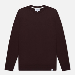 Мужская толстовка Norse Projects Vagn Classic Crew Eggplant Brown