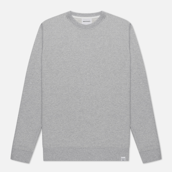 Мужская толстовка Norse Projects Vagn Classic Crew Light Grey Melange