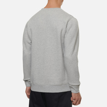 Мужская толстовка Norse Projects Vagn Classic Crew Light Grey Melange фото- 3