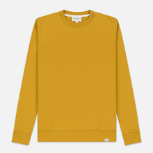 Мужская толстовка Norse Projects Vagn Classic Crew Montpellier Yellow фото- 0