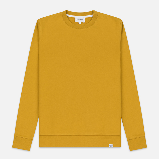Мужская толстовка Norse Projects Vagn Classic Crew Montpellier Yellow