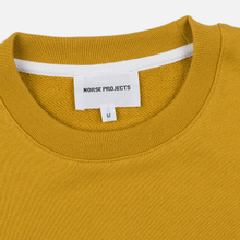 Мужская толстовка Norse Projects Vagn Classic Crew Montpellier Yellow фото- 1
