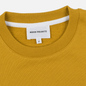 Мужская толстовка Norse Projects Vagn Classic Crew Montpellier Yellow фото - 1