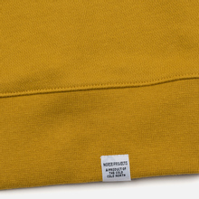 Мужская толстовка Norse Projects Vagn Classic Crew Montpellier Yellow фото- 3