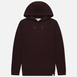 Мужская толстовка Norse Projects Vagn Classic Hood Eggplant Brown