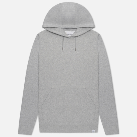 Мужская толстовка Norse Projects Vagn Classic Hood Light Grey Melange