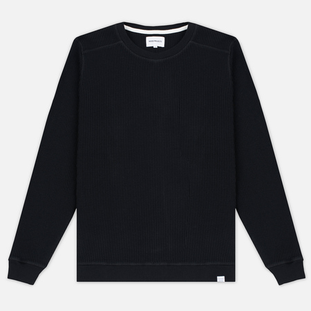 Мужская толстовка Norse Projects Vagn Compact Waffle Black
