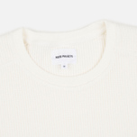 Norse Projects Vagn Compact Waffle Men's Sweatshirt Ecru photo- 1
