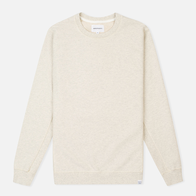 Мужская толстовка Norse Projects Vagn Dry Cotton Ecru