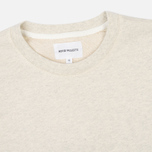 Мужская толстовка Norse Projects Vagn Dry Cotton Ecru фото- 1