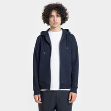 Мужская толстовка Norse Projects Vagn Zip Hood Dark Navy фото- 1