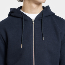 Мужская толстовка Norse Projects Vagn Zip Hood Dark Navy фото- 2