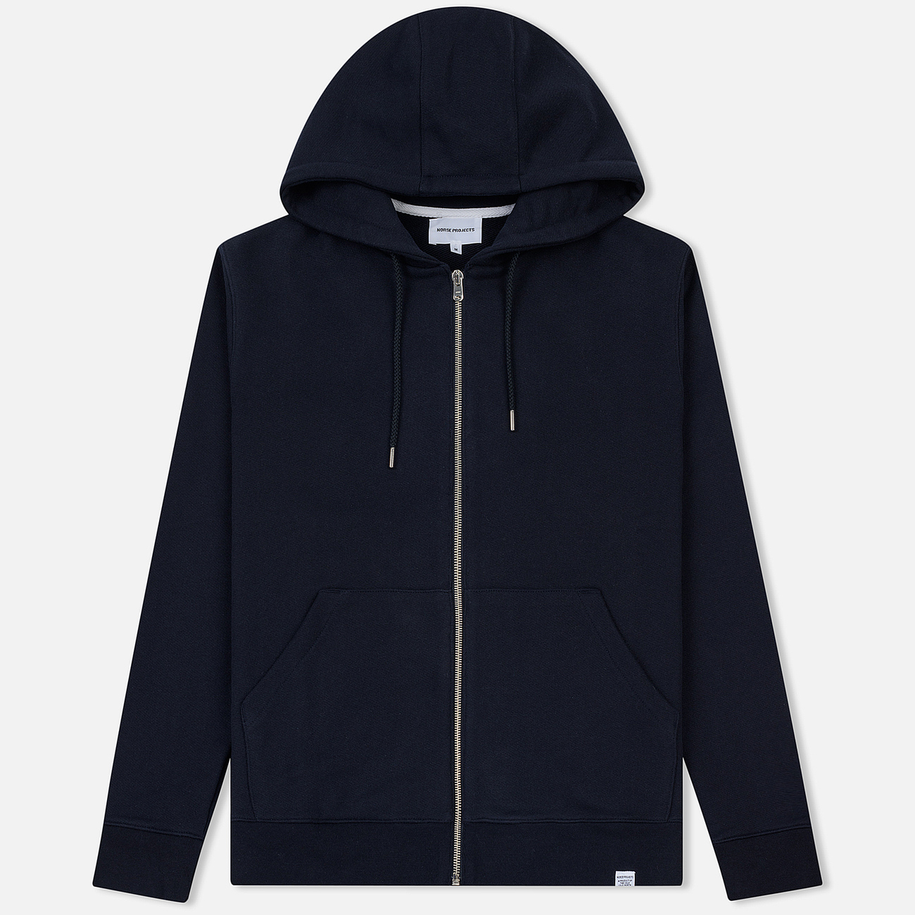 Мужская толстовка Norse Projects Vagn Zip Hood Dark Navy